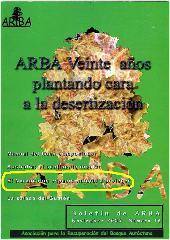 BOLETIN 16 ARBA PORTADA