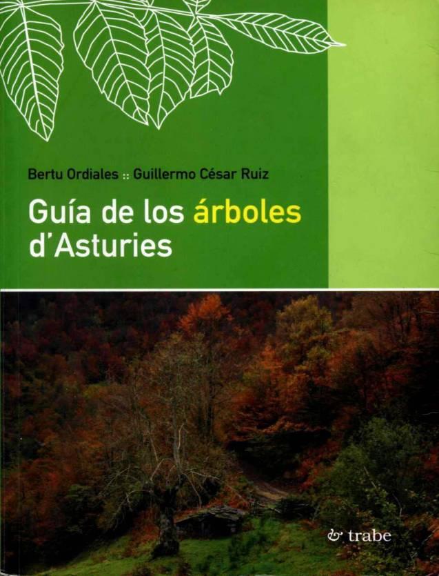 GUÍA DE LOS ÁRBOLES D'ASTURIES, PORTADA