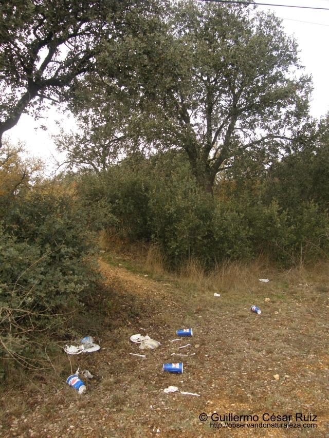 basura en Monte El Viejo