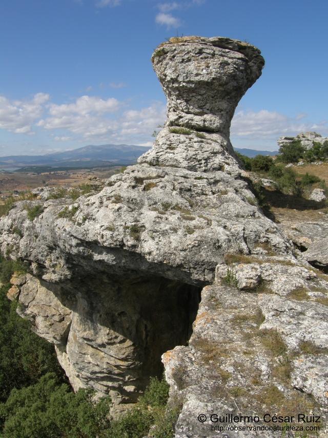 Caprichos geológicos en Las Tuerces