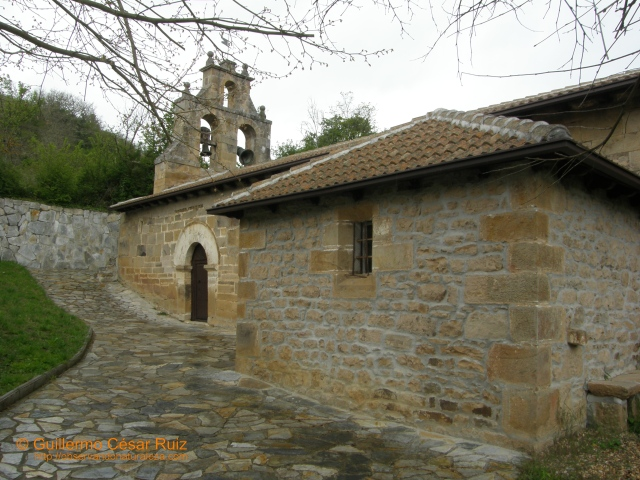 Iglesia de San Cristobal S. XVI, Bárcena de Ebro