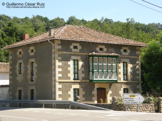 Arquitectura tradicional en Bárcena de Ebro
