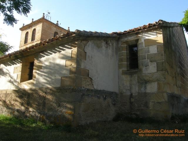 Lateral y ábside exterior iglesia Sta. Eugenia