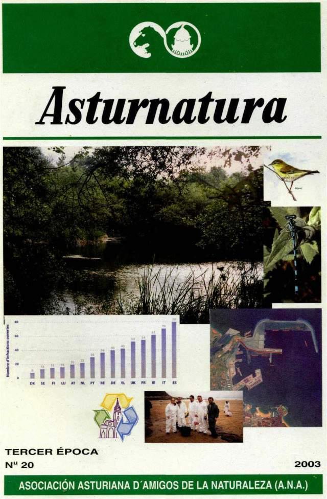 ASTURNATURA Nº 20. PORTADA