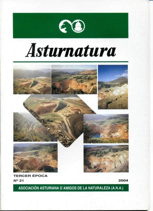 ASTURNATURA Nº 21. PORTADA
