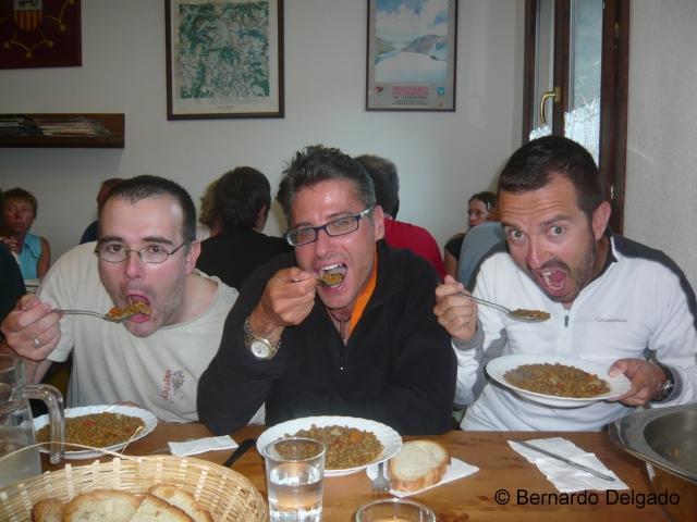 Cenando en Colomers