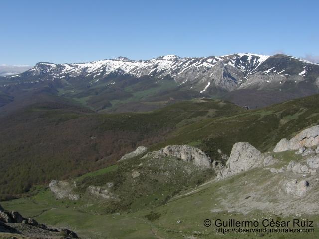 Peña Labra, Tres Mares y Valle de Los Redondos desde La Verdiana