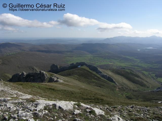 Valle de Castillerías, Peña El Águila desde La Verdiana