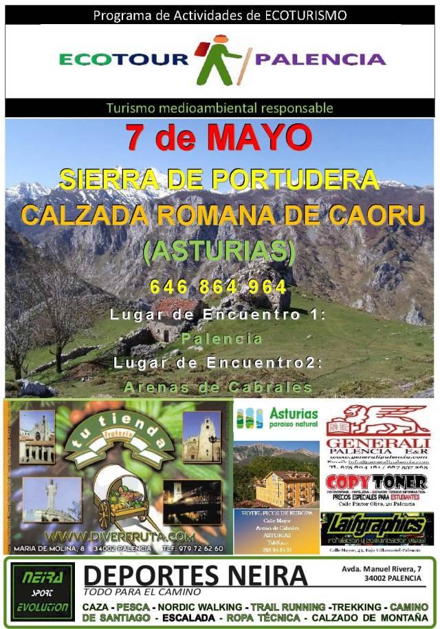 40 CARTEL SIERRA DE PORTUDERA (ASTURIAS)