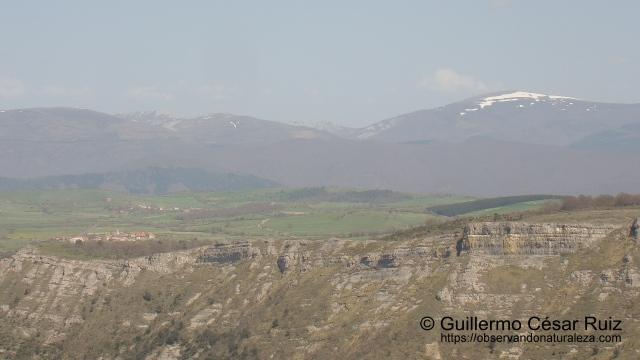 Unzá y Gorbeia desde Monte Santiago