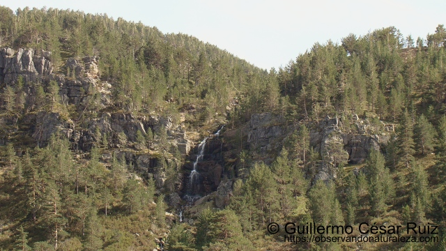 Cascada, Laguna de la Cascada, Neila (Burgos)