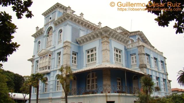 Archivo de Indianos, fachada posterior, Colombres, Ribedeva