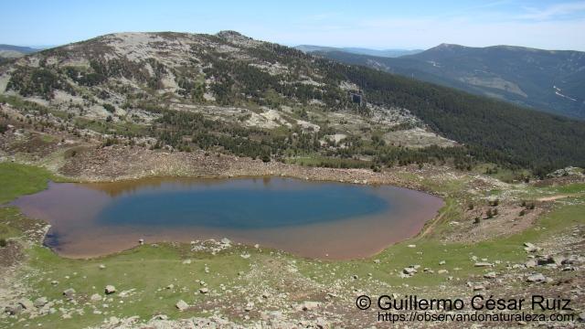 Laguna Helada desde Mojón Alto
