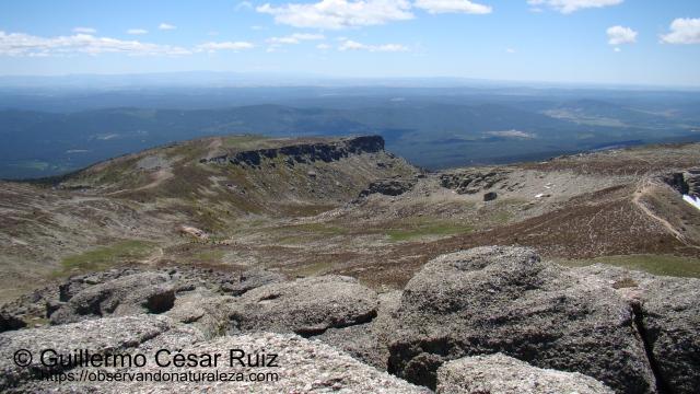 Nacimiento del Duero desde la cima del Pico Urbión