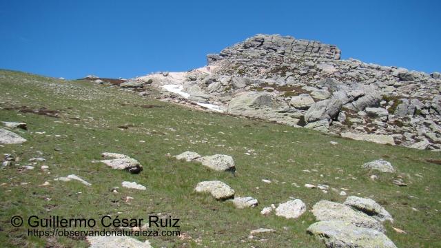 Pico Urbión, cara suroeste