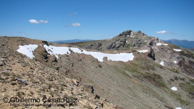 Pico Urbión desde Sierra de Mojón Alto