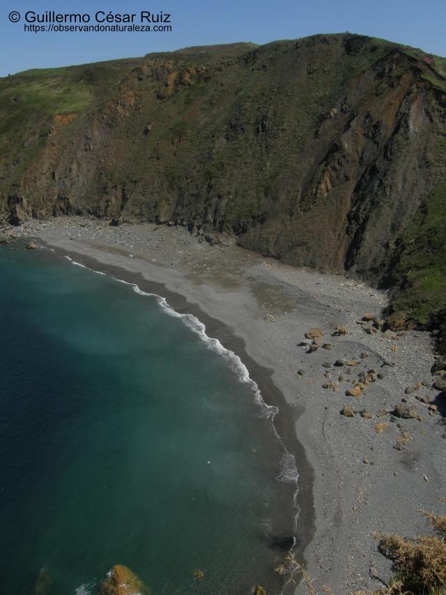 Playa El Cuerno o Les Melleres 2, Verdicio (Gozón-Asturias)