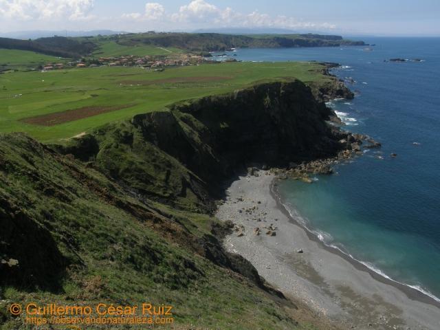 Playa El Cuerno o Les Melleres 4, Verdicio (Gozón-Asturias)