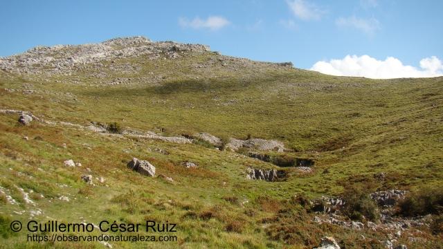 Hoya Tueros, ascendiendo hacia Monte Candina