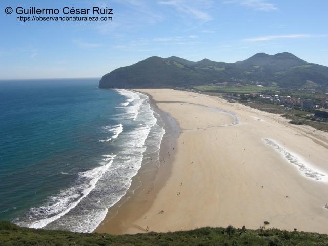 Monte Buciero y Playa de Berria