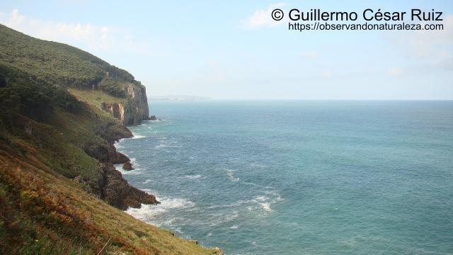 Punta del Águila desde la Punta y Faro del Pescador, Monte Buciero, Santoña