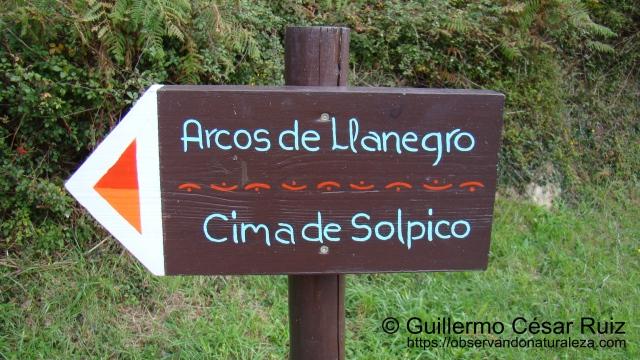 Senda Arcos de Llanegro (Ojos del Diablo)