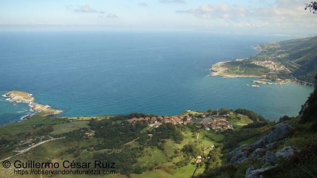 Sonabia, Cabo Cebollero, Ría de Oriñon, Islares desde los Arcos de Llanegro-Monte Candina, Cantabria