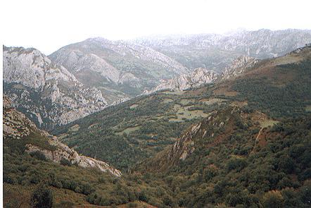 Collada de La Rebollosa, vistas a la Xerra de Caranga y El Colladin