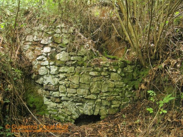 Ruinas calero en Llampaya