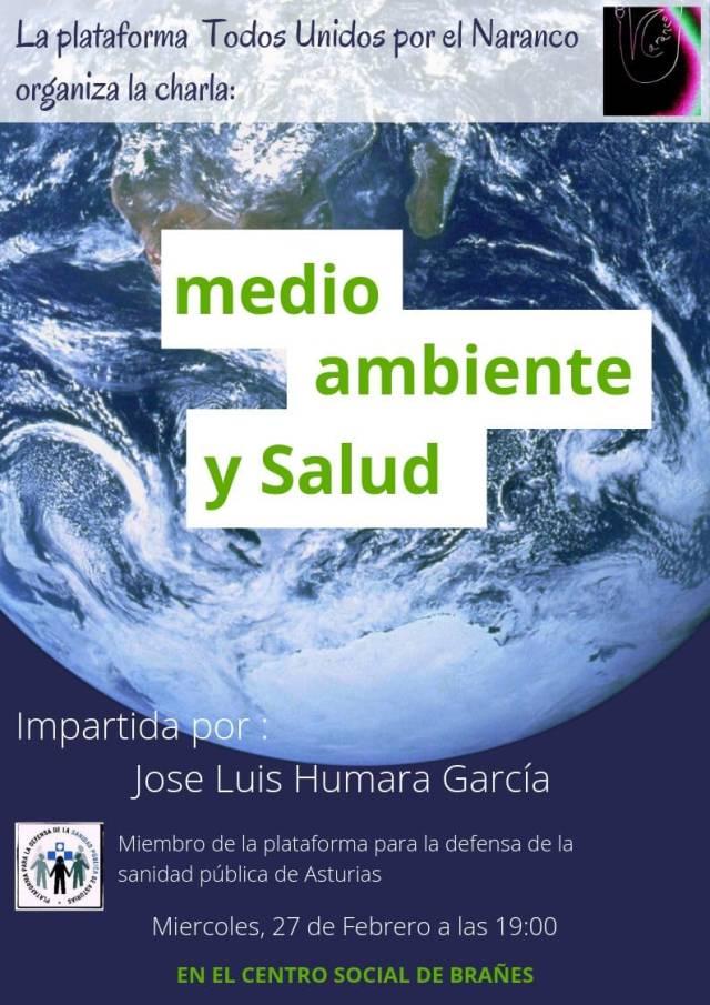 TODOS UNIDOS POR EL NARANCO. Medio Ambiente y Salud